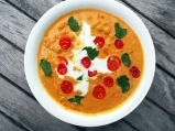 Served as a curry or a soup and easy to make!