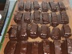 Moist, sweet, chocolatey.
