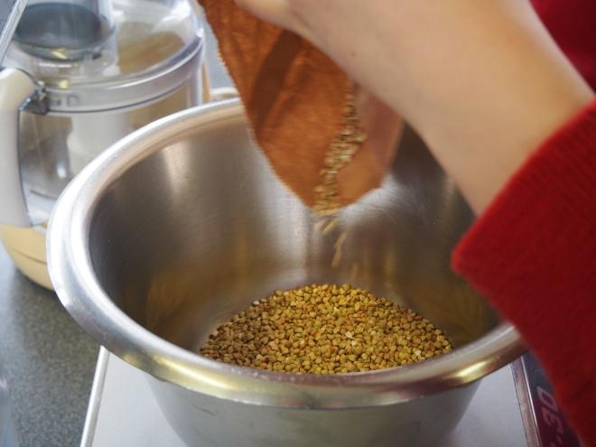 Organic Buckwheat Groats for the Waffles