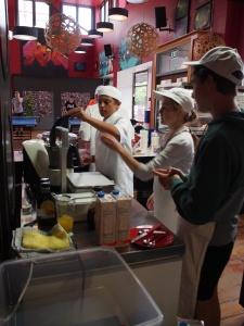 Ice cream mixtures underway