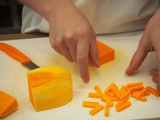 Jardinere of butternut
