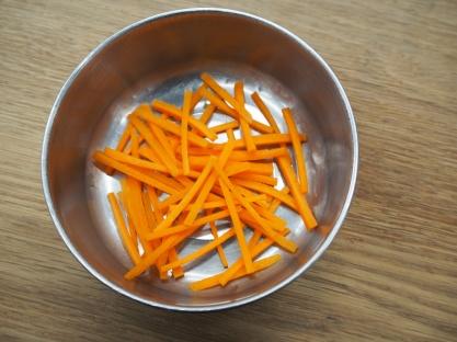 Julienne of carrot